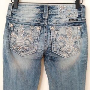 Miss Me Signature Boot Cut Jeans